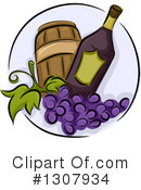 Winery Clipart #1307934 by BNP Design Studio