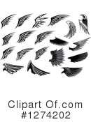 Wing Clipart #1274202 by Vector Tradition SM