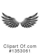 Wings Clipart #1353061 by AtStockIllustration
