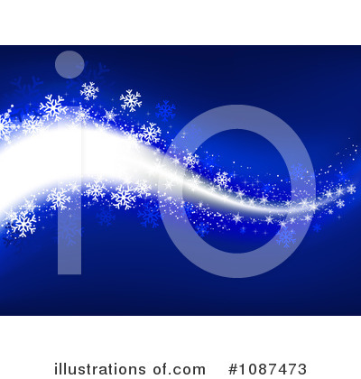 Snowflake Background Clipart #1087473 by KJ Pargeter