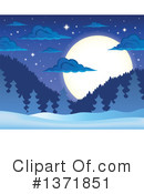 Winter Clipart #1371851 by visekart