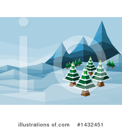 Tree Clipart #1432451 by AtStockIllustration