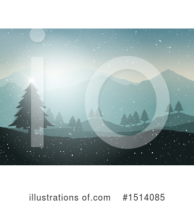 Mountains Clipart #1514085 by KJ Pargeter