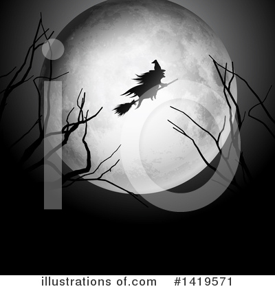 Halloween Clipart #1419571 by KJ Pargeter