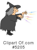 Witch Clipart #5205 by djart