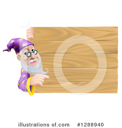 Wizard Clipart #1288940 by AtStockIllustration