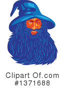 Wizard Clipart #1371688 by patrimonio