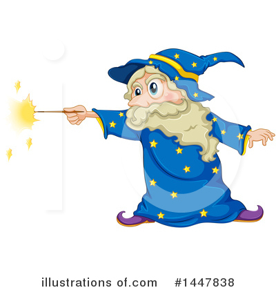 Wizard Clipart #1447838 by Graphics RF