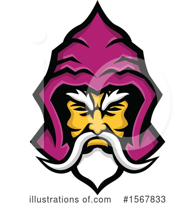 Royalty-Free (RF) Wizard Clipart Illustration by patrimonio - Stock Sample #1567833