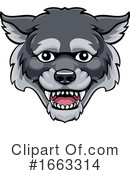 Wolf Clipart #1663314 by AtStockIllustration