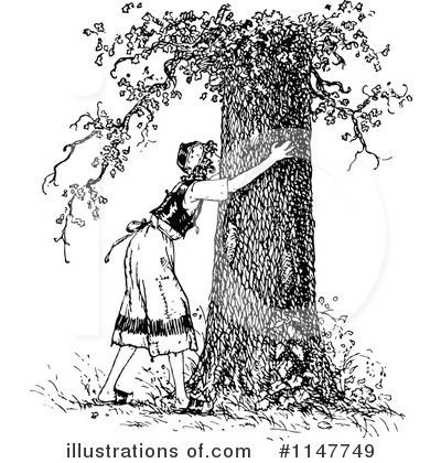 Tree Hugger Clipart #438591 - Illustration by toonaday