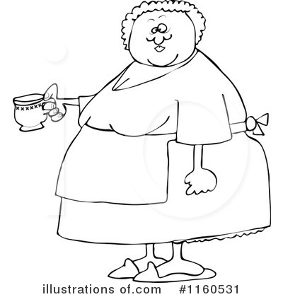 Woman Clipart 1160531 Illustration By Djart