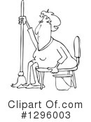 Woman Clipart #1296003 by djart