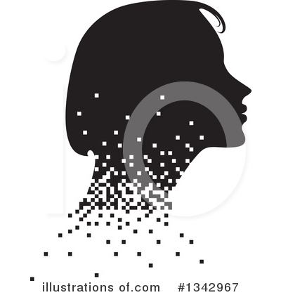 Royalty-Free (RF) Woman Clipart Illustration by ColorMagic - Stock Sample #1342967