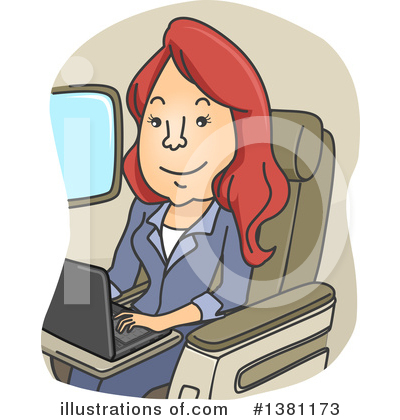 Airplane Clipart #1381173 by BNP Design Studio