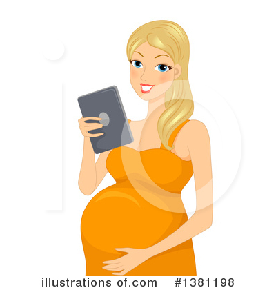 Pregnant Clipart #1381198 by BNP Design Studio