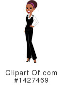 Woman Clipart #1427469 by Monica