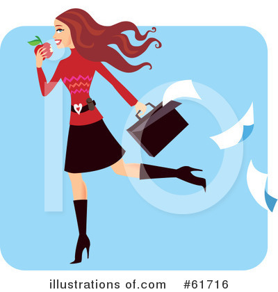 Businesswomen Clipart #61716 by Monica