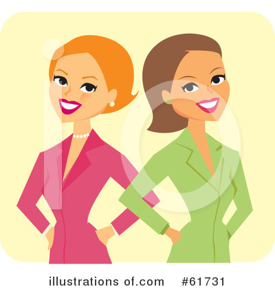 Businesswomen Clipart #61731 by Monica