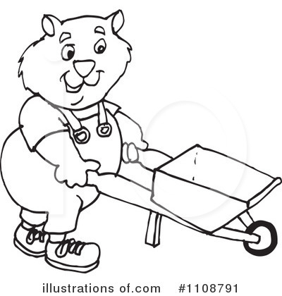royalty free rf wombat clipart illustration by dennis holmes designs stock sample