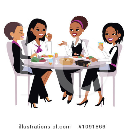 Royalty-Free (RF) Women Clipart Illustration by Monica - Stock Sample #1091866