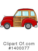 Woody Car Clipart #1400077 by djart