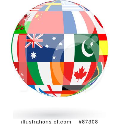 World Globe Clipart #87308 - Illustration by elaineitalia