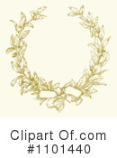 Wreath Clipart #1101440 by BestVector