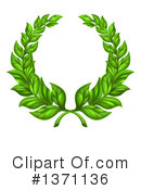 Wreath Clipart #1371136 by AtStockIllustration