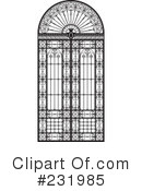 Wrought Iron Clipart #231985 by Frisko