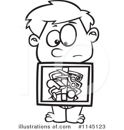 Royalty Free RF Xray Clipart Illustration 1145123 By Toonaday