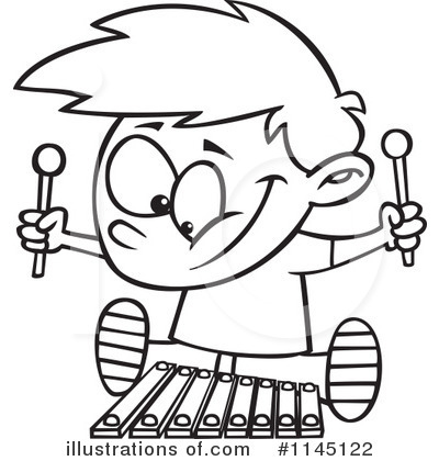 Awesome Royaltyfree Rf Xylophone Clipart By Toonaday With