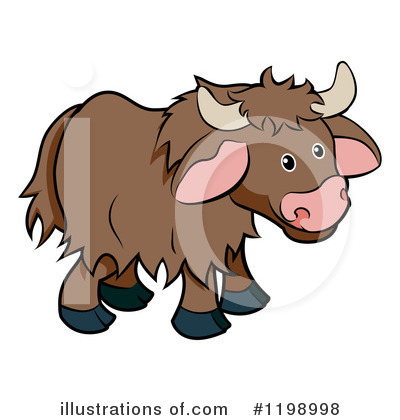 Bull Clipart #1198998 by AtStockIllustration