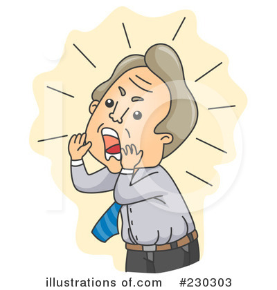 yelling clipart 230303 illustration by bnp design studio rh illustrationsof com child yelling clip art yelling clip art