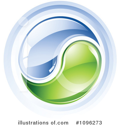 Royalty-Free (RF) Yin Yang Clipart Illustration by TA Images - Stock Sample #1096273