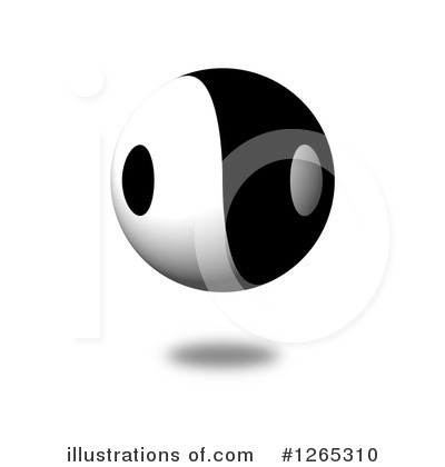 Yin Yang Clipart #1265310 by oboy