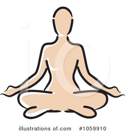 Yoga Clipart #1059910 - Illustration by Rosie Piter