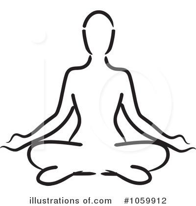 Yoga Clipart 1059912 Illustration By Rosie Piter