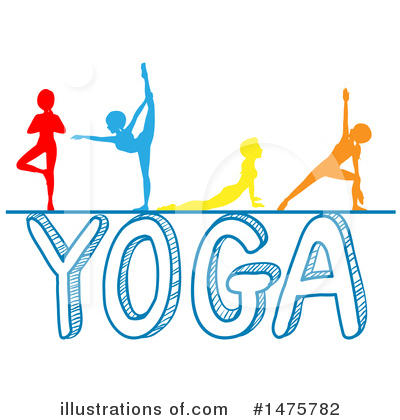 Yoga Clipart 1379904 Illustration By Graphics Rf