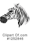 Zebra Clipart #1252846 by BNP Design Studio